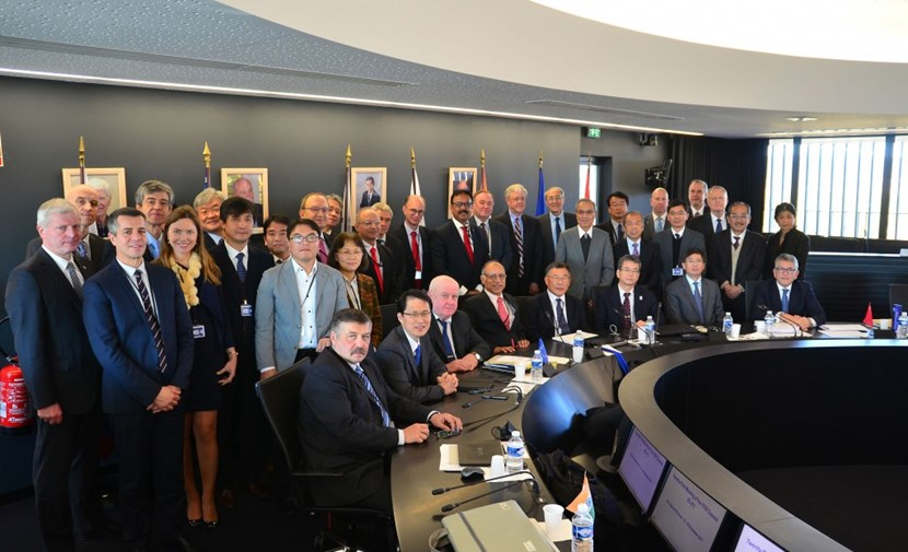 Senior representatives from the seven ITER Members—China, the European Union, India, Japan, Korea, Russia, and the United States—gather for the twenty-first meeting of the ITER Council on 15-16 November 2017 under the chairmanship of Won Namkung from Korea. (Click to view larger version...)