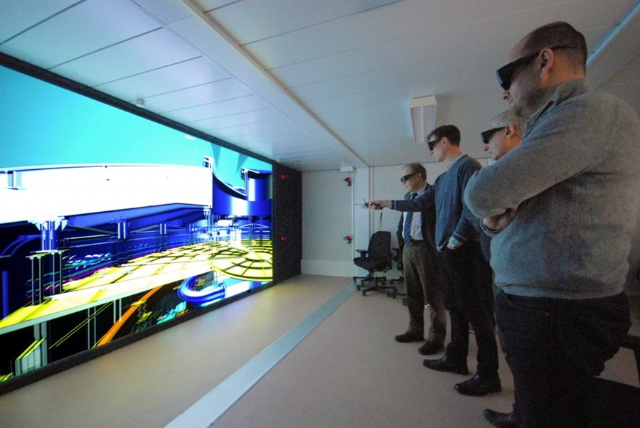 Iter 39 S Virtual Reality Room Is Operational