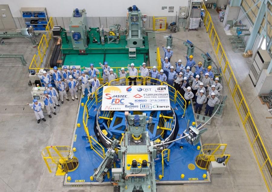 Milestones   Japan completes central solenoid conductor