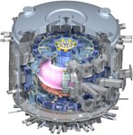 "Hydrogen, helium with up to 5% hydrogen, then deuterium, and eventually the ""actual fusion fuels,"" deuterium and tritium in equal proportion. On its way to full deuterium-tritium operation, ITER will experiment with a succession of plasma fuels."