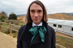 2010 Fields Medal laureate Cédric Villani visited the ITER site on Thursday 20 December before giving a seminar at CEA-Cadarache's IRFM.