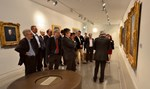 "The ""family reunion"" ended with a private tour of the Musée Granet, guided by curator Bruno Ely."