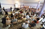 On Wednesday 3 July the Local Commission for Information (CLI) organized a public meeting in the neighbouring village of Vinon-sur-Verdon.