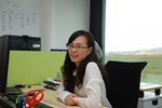 Zhen Chen, ITER's newly appointed Staff Welfare & Assistance Officer.