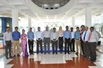 The contract award comes as a result of the diligence, cooperative attitude and flexibility of the Indian cooling water team led by Ajith Kumar and Dinesh Gupta. Pictured: staff from Larsen & Toubro, ITER India and the ITER Cooling Water System Section at the contract kick-off meeting in Chennai, India.