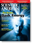 "The March 2010 issue of ""Scientific American"" in which Michael Moyer's article was published."