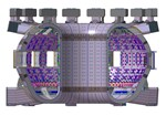 The ITER vacuum vessel will be twice as big and sixteen times as heavy as the vessel of any previous tokamak.