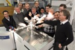 "CEA Vacuum Group offered their ITER counterparts ""a nice piece of real-estate"" in the form of a 600 square-meter working space in one of CEA-IRFM's building, close to the Tore Supra installation."