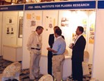 ITER-India manned a stand for poster presentations on ITER and ITER-India activities.