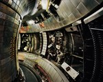 Thomas Struth: Tokamak Asdex Upgrade Interior 2, Max Planck IPP, Garching, 2009. Chromogenic print, 141,6 x 176,0 cm. © 2011 Thomas Struth