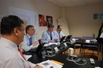 The JET Review Panel meeting at ITER on 23 May.